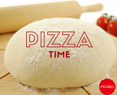Pizzado pizza time graphic